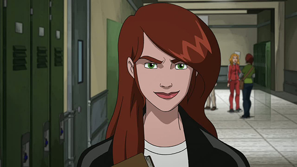 Mary Jane Watson's image | There is a message everywhere